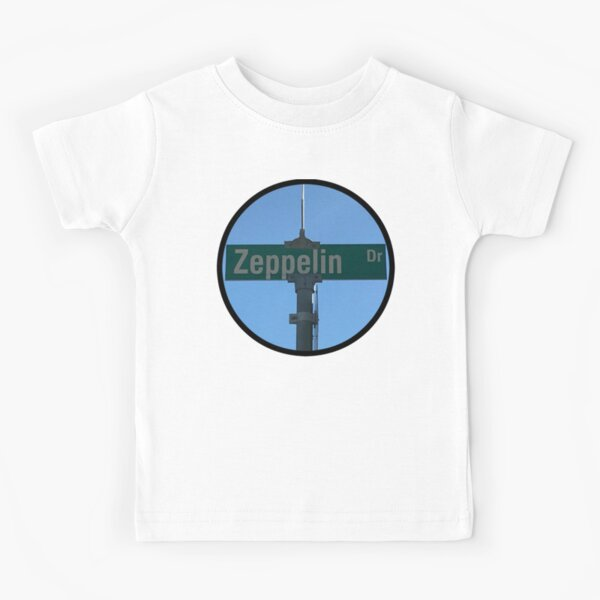 Zeppelin Drive Kids T-Shirt