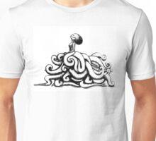 Octolady, side Unisex T-Shirt