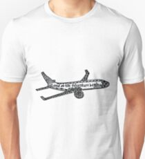 And So the Adventure Begins Drawing Unisex T-Shirt