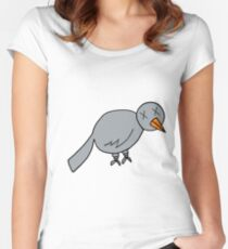 Metal Pigeon Women's Fitted Scoop T-Shirt