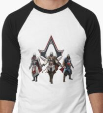 Ezio Auditore, the best Assassin Men's Baseball ¾ T-Shirt
