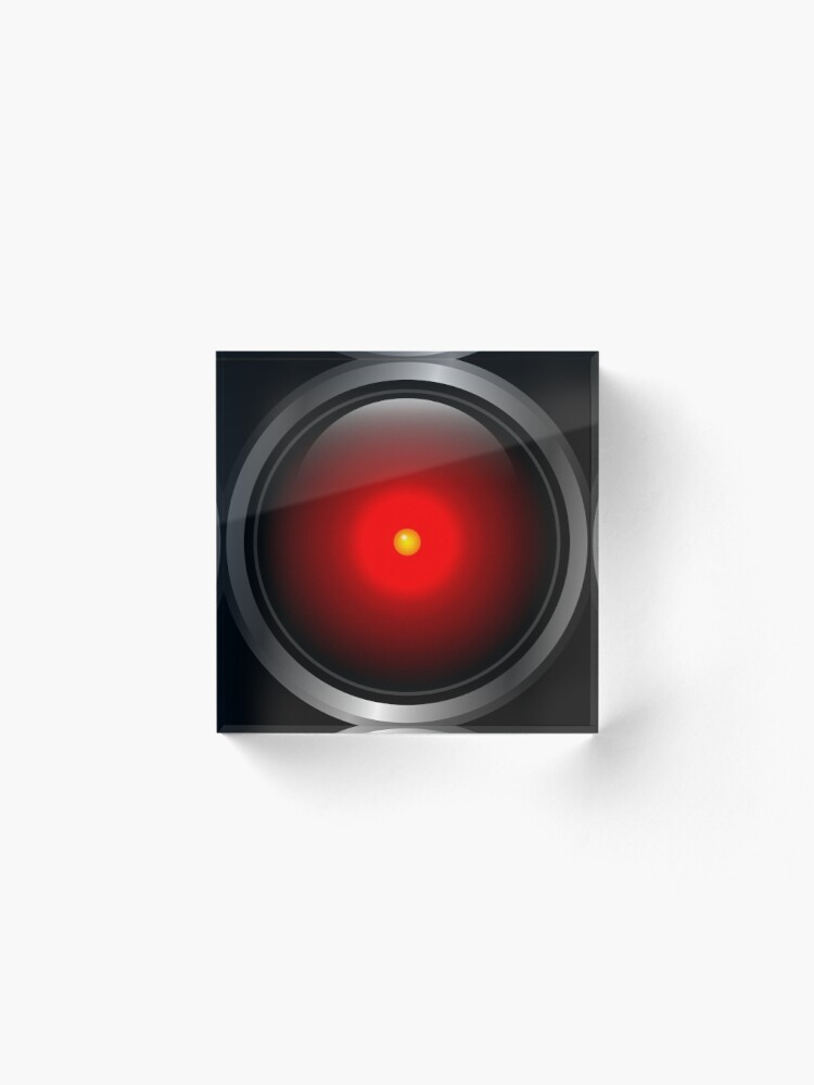 Alternate view of HAL 9000 Acrylic Block