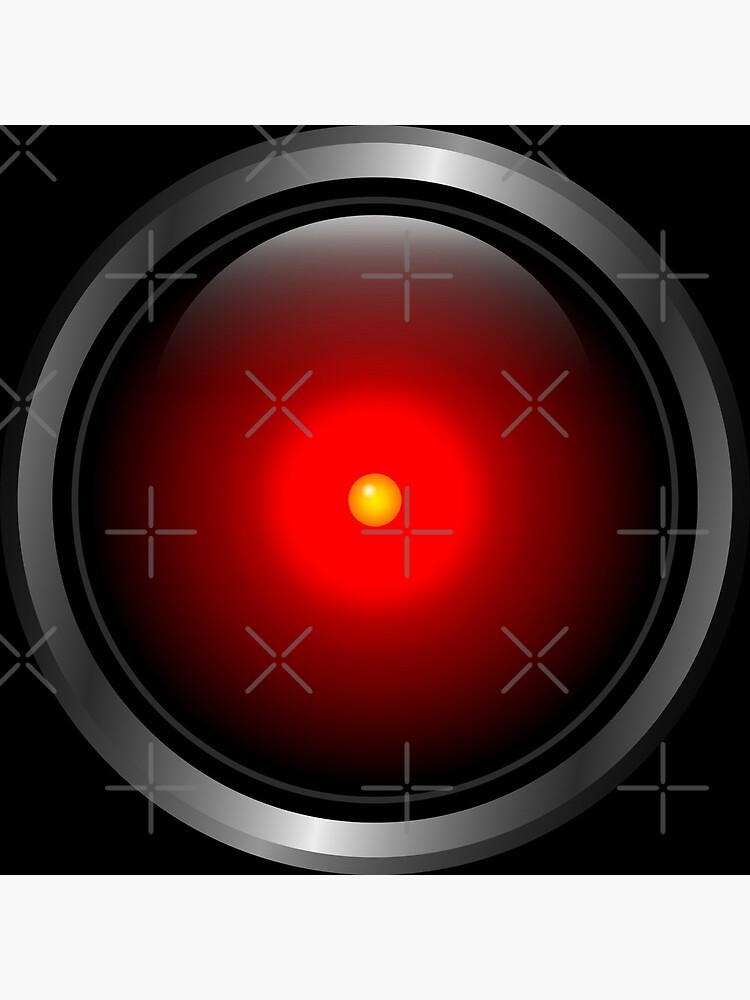 HAL 9000 by muskitt