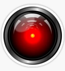 Hal 9000 (updated) Sticker