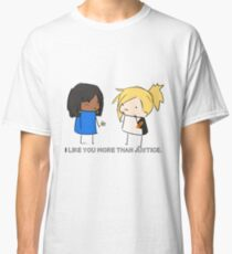 Justice Rains down with love.  Classic T-Shirt