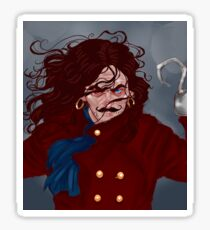 Captain Hook Sticker