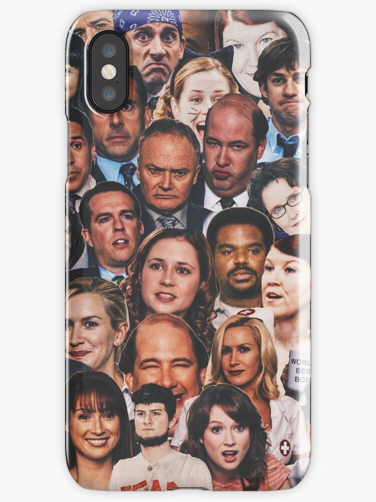 the office collage by katieferret