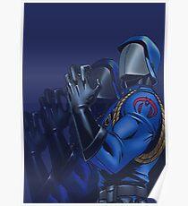Cobra commander Poster