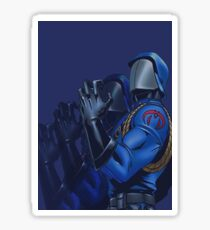 Cobra commander Sticker
