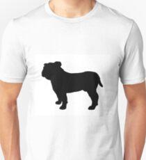 bulldog silhouette Unisex T-Shirt