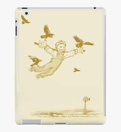 A Scarecrow Learns to Fly iPad Case/Skin