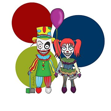 Clowns Love  by MomOfCreatures