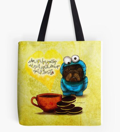 WHAT MY COFFEE SAYS TO ME OCTOBER 7, 2015 Tote Bag