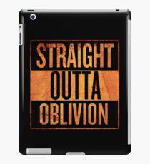 Straight Outta Oblivion iPad Case/Skin