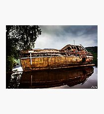 Abandoned on Loch Ness Photographic Print