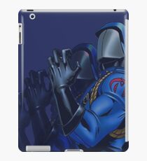 Cobra commander iPad Case/Skin