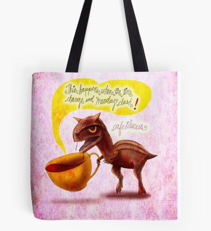WHAT MY COFFEE SAYS TO ME MARCH 9, 2015 Tote Bag