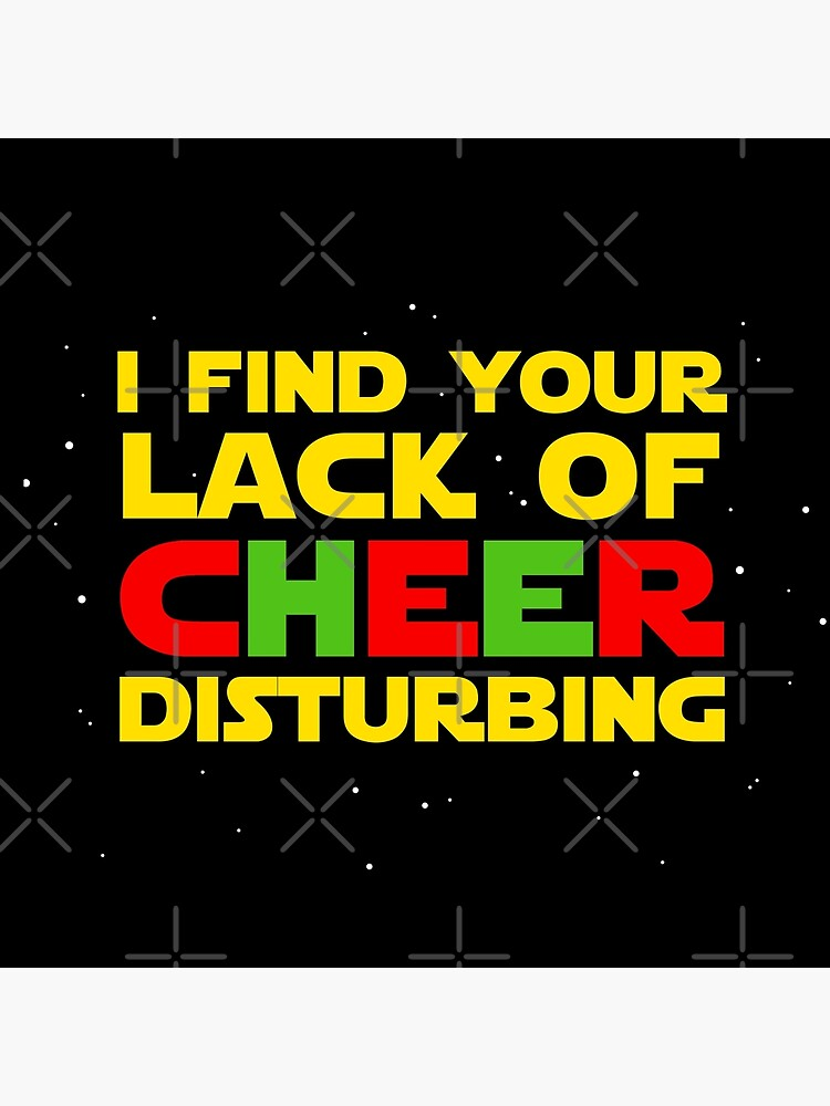 I find your lack of cheer disturbing by ninthstreet