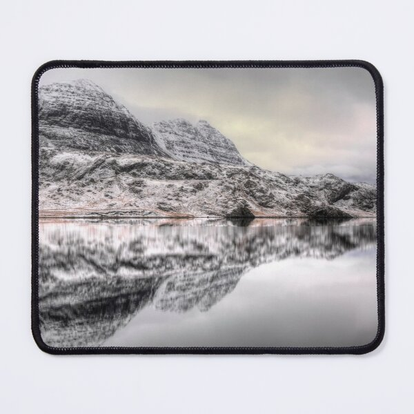 Suilven Winter Reflections Mouse Pad
