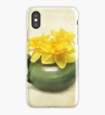 Dreaming About Daffodils  iPhone Case