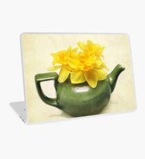 Dreaming About Daffodils  Laptop Skin
