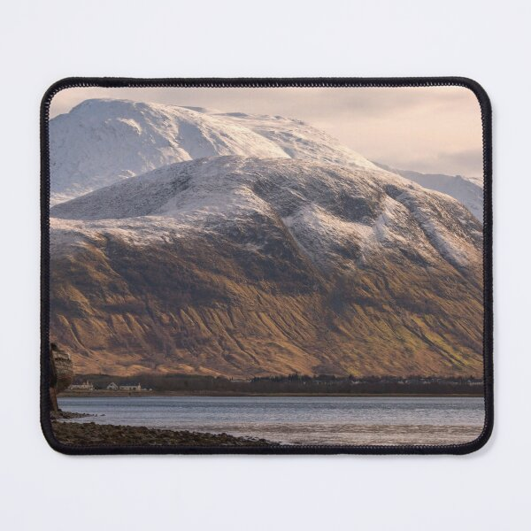 Ben Nevis and the Old Boat Mouse Pad