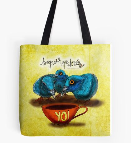 WHAT MY COFFEE SAYS TO ME SEPTEMBER 30 2015 Tote Bag