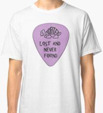 Lost Guitar Pick Purple Classic T-Shirt
