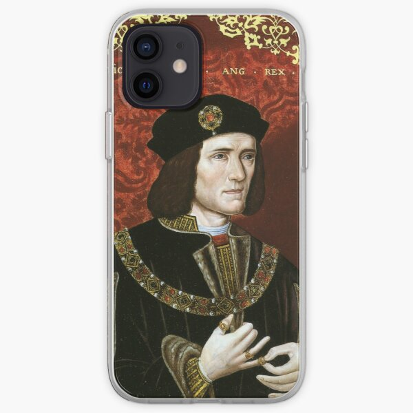Portrait of King Richard III iPhone Soft Case