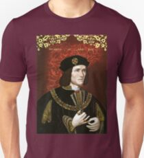 Portrait of King Richard III Unisex T-Shirt