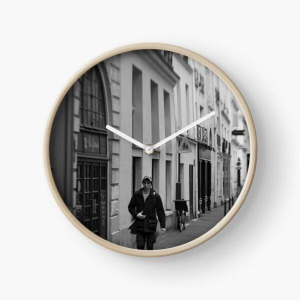 Parisian pedestrian - France Clock