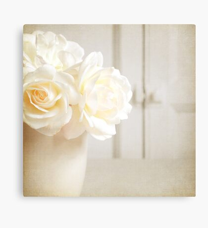 Scent of a wild rose Canvas Print