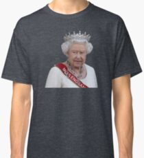 Queen Elizabeth II - Miss England Classic T-Shirt