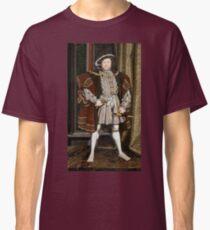 Iconic King Henry VIII Portrait Classic T-Shirt