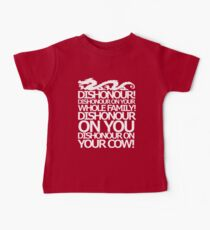 Dishonour on your cow!  Baby Tee