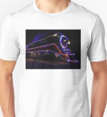 SP 4449 Steam Train With Christmas Lights T-Shirt