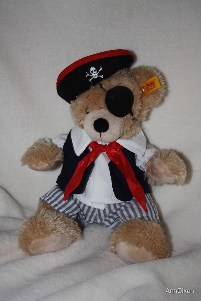 Teddy Bear Pirate by AnnDixon