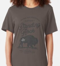 Support Standing Rock : 100% Profits Donated Slim Fit T-Shirt