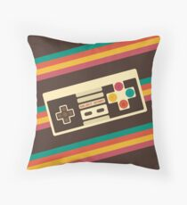 Retro Video Game 2 Throw Pillow