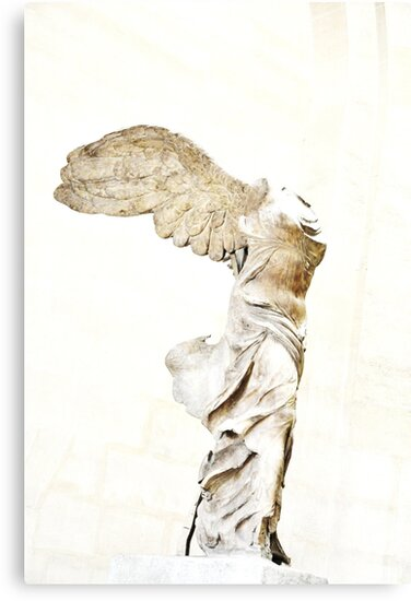 Winged Victory of Samothrace by Karen E Camilleri