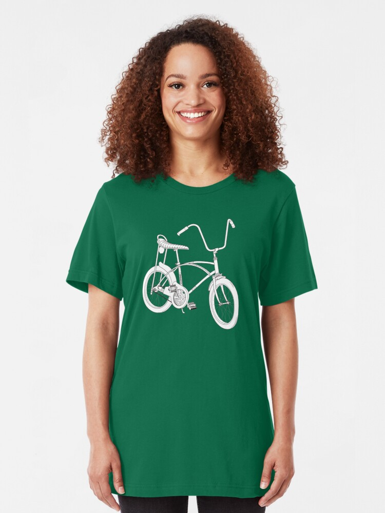 Alternate view of Free Spirit Chopper Bicycle Slim Fit T-Shirt