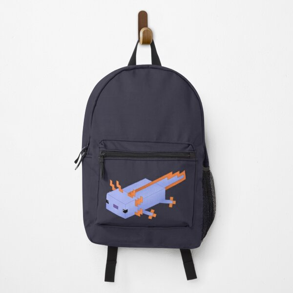 Original Blue Minecraft Axolotl Backpack