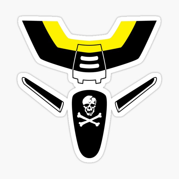Macross Skull Squadron Custom Sticker