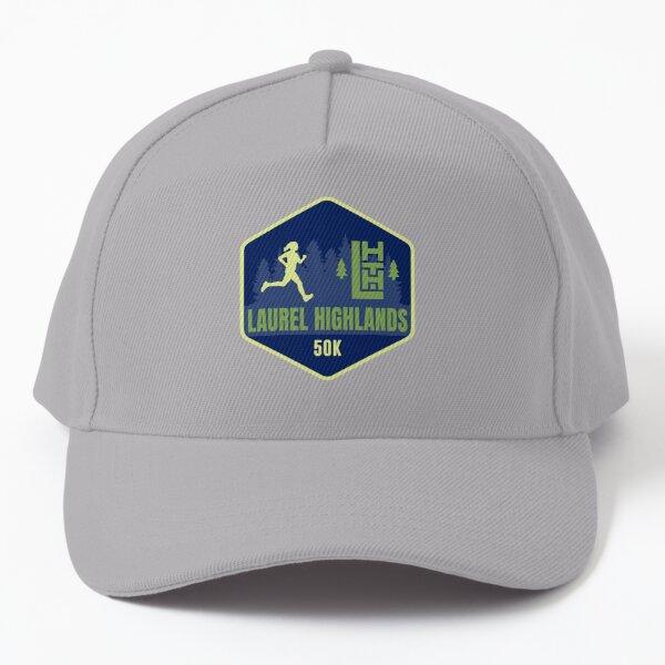 Laurel Highlands Trail Woman Runner 50K Baseball Cap