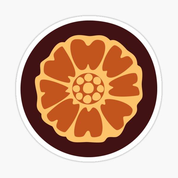 White Lotus Sticker