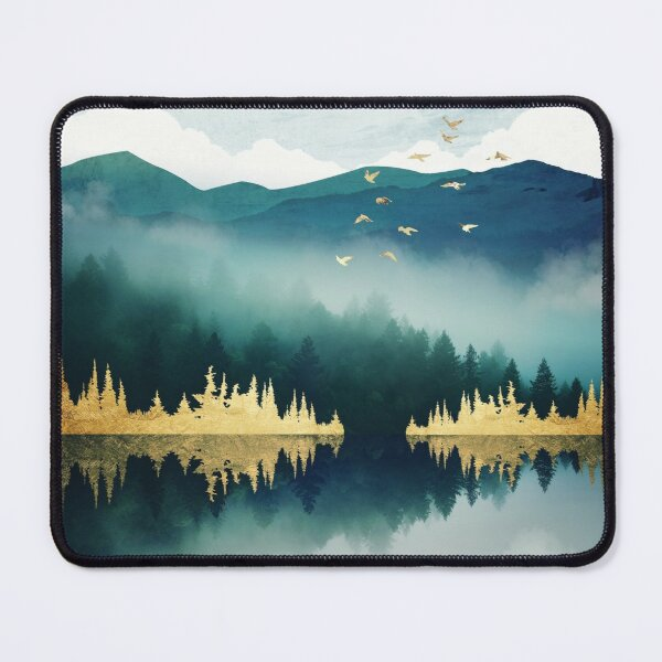 Mist Reflection Mouse Pad