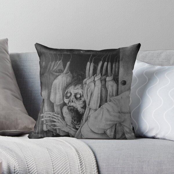Boogeyman Throw Pillow