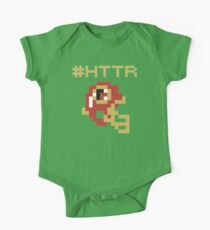 Hail to the Redskins - 8 Bit One Piece - Short Sleeve