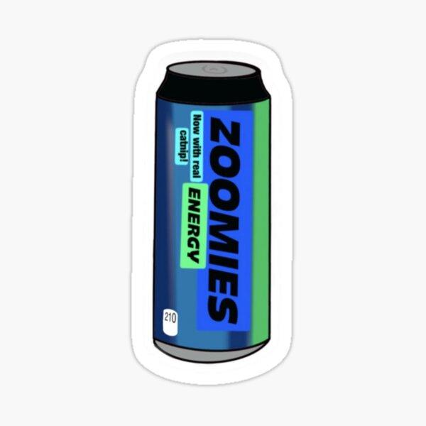 Zoomies energy by NateMakesStuff Sticker
