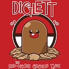 Diglett the Red Nosed Ground Type by theartofm